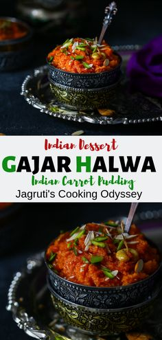Gajar-Carrot Halwa { Step by step recipe pictures }
