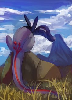 sapphiregaledraws:    2hr speedpaint of Salandit cause I forgot how much I love this guy pokemon pokemon go pikachoo follow back