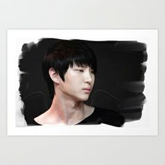 Leo - VIXX Art Print by Kimberley Britt - $18.00  available on products too!  t-shirts, mugs, phone cases, totes!