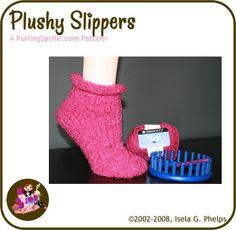 Isela Phelps loom knitting