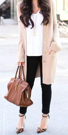 #street #style / long cardigan