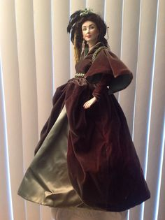 Scarlet Ohara/ Gone With The Wind Doll/ by CapaldiTreasures, $199.99