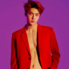 "181207 — Exo to release their Repackage album ""Love Shot"" on December They started to share photo teaser for their upcoming album with hot pictures of Kai and Sehun in Red 🔥 Checkout their teaser below Kyungsoo, Sehun Hot, Exo Chanyeol, Hunhan, Exo Ot12, Kpop Exo, Chen, Spirit Fanfic, Exo Album"