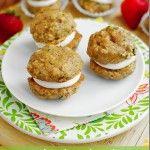 Zucchini Bread Cookie Whoopie Pies