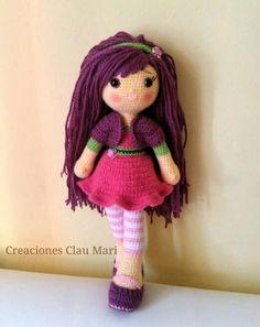 Muñeca Frambuesita amiga de Tarta de fresa
