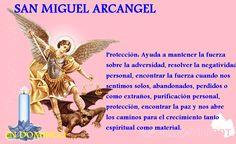San Miguel Arcángel; abre los caminos y hace justicia.    #FelizSabado