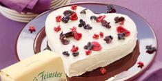 Fini's Feinstes - Rezeptsuche - Fini´s Rezepte - Topfen-Obers-Herz Desserts, Food, Heart, Baking, Food Food, Rezepte, Tailgate Desserts, Postres, Deserts