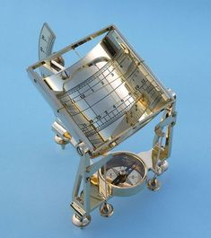 Universal Equinoctial Sundial Month and hour markings From The Brass Compass
