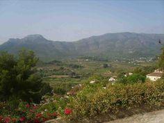 Alcalali, Spain. 8 weeks till I'm here again!