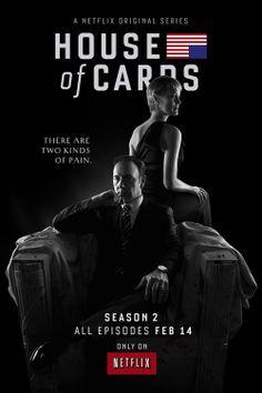 House of Cards – saison 2 'Série politique perverse, succès fulgurant d'une chaîne à séries uniquement diffusée sur le web, le duo redoutable Kevin Spacey – Robin Wright survit-il à une seconde saison qui marque toujours un tournant dans la longévité des séries ?'
