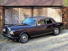 Rolls-Royce Corniche Coupé. - 1980.