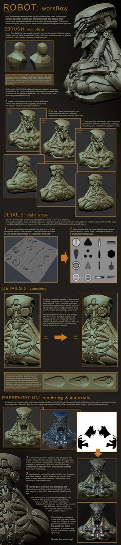 Robot Workflow by ~panick on deviantART