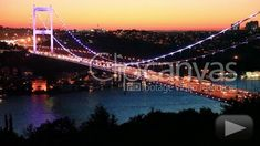 On this day in The Bosphorus Bridge in Istanbul, Turkey was completed, connecting the continents of Europe and Asia over the Bosporus for the first time. Bosphorus Bridge, Europe Continent, Istanbul Turkey, Golden Gate Bridge, Continents, Asia, History, Day, Travel