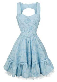 Through The Looking Glass - Alice Classic Dress - Kurzes Kleid von Alice im Wunderland