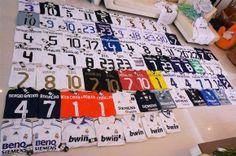 Coleccion de Camisetas de Futbol 1 Soccer Jerseys 9a1eb229848