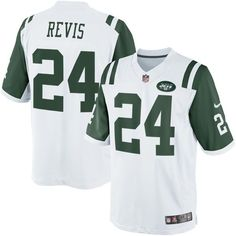 5476bc7ee Darrelle Revis New York Jets Nike Limited Jersey - White