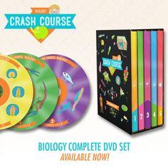 "http://store.dftba.com/products/crashcourse-biology-the-complete-series-dvd-set  DFTBA - CrashCourse Biology: The Complete Series DVD Set  Buy this item plus ""CrashCourse World History"" together and save $20!"