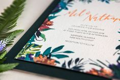Magical and bright, Numbaa creates a harmonious balance of playful fun and and sophistication. Featuring a modern calligraphy style this adventurous and romantic suite is ideal for an enchanting garden wedding.
