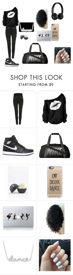 """""""Time for Dance practice"""" by minionlover710 on Polyvore featuring Diesel, NIKE, Eos, Casetify, Vinyl Revolution, Beats by Dr. Dre, Forum and Sydney Evan"""