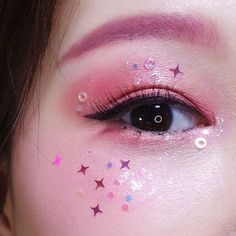 March 13 2019 at Cute Eye Makeup, Cool Makeup Looks, Korean Eye Makeup, Creative Makeup Looks, Goth Makeup, Eye Makeup Art, Pretty Makeup, Makeup Inspo, Makeup Inspiration