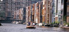 Borneo-Sporenburg: A new interpretation of the traditional Dutch canal house. High density low rise living in the Docklands of Amsterdam. | West 8 Urban Design  Landscape Architecture