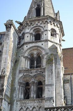 Eglise-Sainte-Eusèbe. Auxerre. Bourgogne