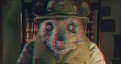 Friend of a Fox 3-D by ~CameronArt on deviantART