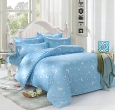 Роскошь марка logo king queen полный печать покрывало комплект постельные принадлежности комплект купить на AliExpress
