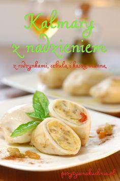 Nadziewane kalmary w białym winie - #przepis na kalmary z nadzieniem  http://pozytywnakuchnia.pl/nadziewane-kalmary-w-bialym-winie/  #kuchnia #obiad #kalmary