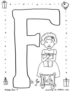 Free Christian Art coloring page downloads!