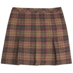 Tartan Pleat Skirt