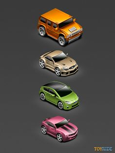 Have been working on some isomertic cars for a iOS game. Like it?