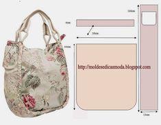 Very nice textile bag + scheme.