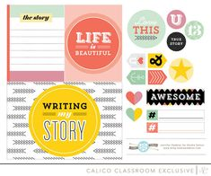 This is Me class printables by Studio Pebbles