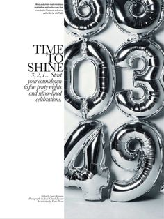 Time to Shine: photographer Jean-Claude Lussier: Elle Canada December 2012