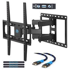 Mounting Dream Md2380 Tv Wall Mount Bracket For Most 26 55 Inch Led Lcd Oled And Plasma Flat Screen Tv With Fu Tv Wall Mount Bracket Wall Mounted Tv Tv Wall