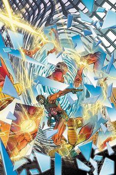 """Escrito por JOSHUA WILLIAMSON  Arte y portada de CARMINE DI GIANDOMENICO  Variante de DAVE JOHNSON  """"ROGUES RELOADED"""" tercera parte! Arrastrado por una persecución de wild goose por todo el mundo The Flash sigue a los pícaros a su siguiente objetivo: la gente de Central City! Incluso Barry Allen es lo suficientemente rápido para resolver cinco crímenes diabólicos al mismo tiempo?  A LA VENTA 8 FEBRERO FUENTE: COMICVINE - http://ift.tt/1HQJd81"""