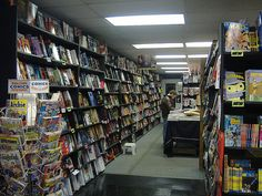 Recently, we've been surveying readers and staff, and cluing you in to some of our favorite indie shops around the country. First we did bookstores, then we moved on to record stores. Both lists ge...