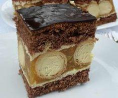 Polish Cake Recipe, Polish Recipes, Polish Food, Sweet Recipes, Cake Recipes, Cookie Desserts, Chocolate Cookies, Cake Cookies, Delicious Desserts
