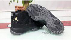Jordan Shoes For Kids, Michael Jordan Shoes, Air Jordan Shoes, New Jordans Shoes, Kids Jordans, Black Dark, All Black, Retro Shoes, Nike Air Jordan Retro