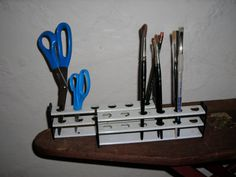 vintage metal test tube holders by AgoVintage on Etsy, $7.00