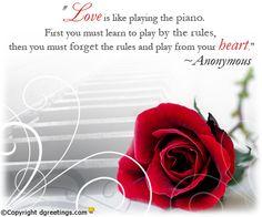 Dgreetings.....    Beautiful love saying........<3<3<3