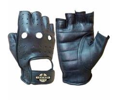 Men-Fingerless-Glove-Leather-Short-Finger-Glove-Genuine-Cow-Leather-glove Leather Motorcycle Gloves, Leather Gloves, Cow Leather, Black Leather, Mitten Gloves, Mittens, Leather Shorts, Cycling Bikes, Weight Lifting