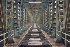 Over and done - Sven Fennema Fotografie Bergen, Albert Einstein, Railroad Tracks, Stairs, Photography, Photos, Ruins, Places, Stairway