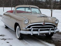 1953 Hudson Super Wasp convertible.