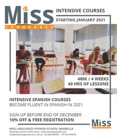 Intensive Spanish courses in Marbeya miss languages Spanish and English school #language #spanish #spanishteacher Social Media Marketing Agency, Content Marketing Strategy, Seo Marketing, Spanish Courses, Snapchat Video, Spanish Teacher, Creative Writing, Languages, App Design