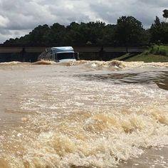 The power of flood waters.  #home #denhamsprings #louisiana