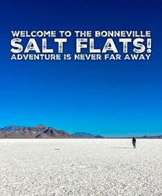 Salt Flats Utah, Desert Ecosystem, Us Road Trip, Salt Lake City Utah, Rv Life, Us Travel, Travel Tips, Far Away, Adventure Travel