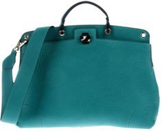 ce4a82bef Green Handbag, Blue Handbags, Furla, Emerald Green, Soft Leather, Shoulder  Strap
