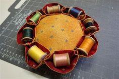 vintage pincushion, easy to make!